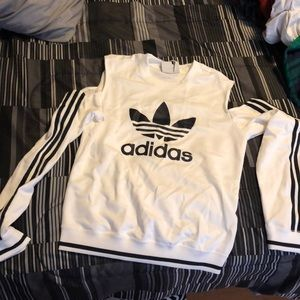 Adidas cut out sweater
